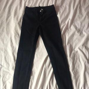H&M black jeans/jeggings
